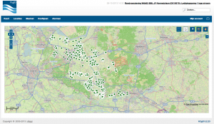 Schermafbeelding GIS-viewer
